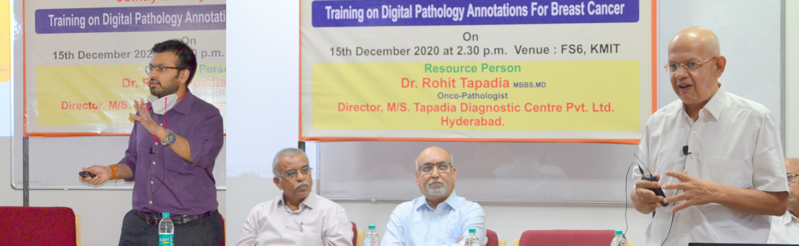 Training on Digital Pathology Annotations for Breast Cancer